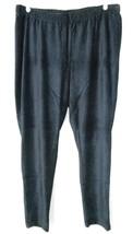 New Basic Editions Blue Ribbed Velvety Stretch ... - $18.33