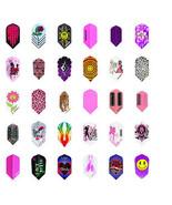 5 New Sets Ladies Slim Dart Flights Girl Variety Design Wholesale Prices - $5.93