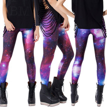 Women Sexy Galaxy Printing Leggings Ombre Yoga Space Workout Clothing Pants - $21.99