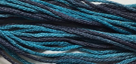 Tornado 6 strand hand dyed embroidery floss 5yd skein Ship's Manor  - $2.00