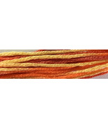 Spirit of Summer 6 strand hand dyed embroidery ... - $2.00