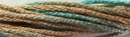 Sea Spray 6 strand hand dyed embroidery floss 5yd skein Ship's Manor  - $2.00