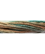Sea Spray 6 strand hand dyed embroidery floss 5... - $2.00