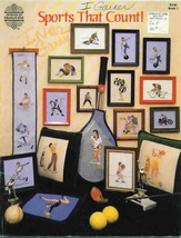 Vintage Designs by Gloria & Pat Sports That Count Cross Stitch - $5.69