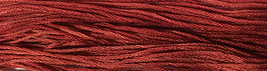 Red Rover 6 strand hand dyed embroidery floss 5yd skein Ship's Manor  - $2.00