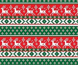 """Reindeer Ugly Sweater Christmas Fleece Throw Blanket 50""""x60"""" - €15,04 EUR"""