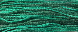 Rainforest 6 strand hand dyed embroidery floss 5yd skein Ship's Manor  - $2.00