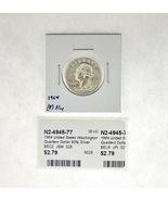 1964 United States Washington Quarters Dollar 90% Silver RATING: (F) Fin... - £2.18 GBP