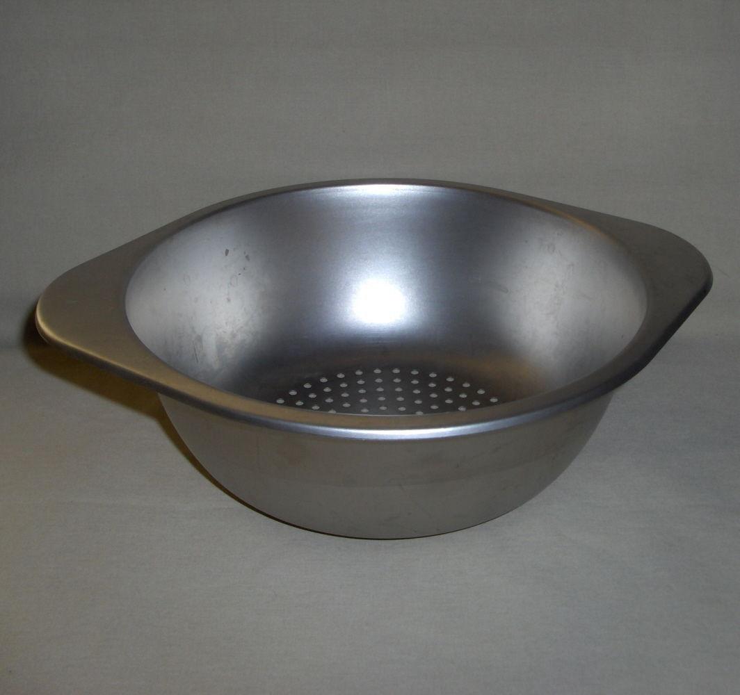 1801 Revere Ware Stainless Steel 2 Quart Steamer Saucepan Insert
