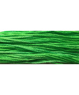 Limelight 6 strand hand dyed embroidery floss 5yd skein Ship's Manor  - $2.00