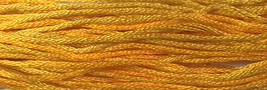 Gold Rush 6 strand hand dyed embroidery floss 5yd skein Ship's Manor  - $2.00
