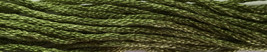 Dried Mint 6 strand hand dyed embroidery floss 5yd skein Ship's Manor  - $2.00