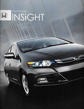 2012 Honda INSIGHT HYBRID sales brochure catalog 12 US LX EX - $8.00