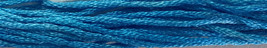 Clear Waters 6 strand hand dyed embroidery floss 5yd skein Ship's Manor  - $2.00