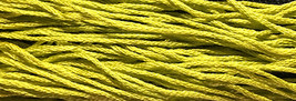 Button Eyes 6 strand hand dyed embroidery floss 5yd skein Ship's Manor  - $2.00