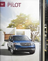 2012 Honda PILOT sales brochure catalog 12 US EX-L Touring - $6.00