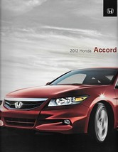 2012 Honda ACCORD sales brochure catalog US 12 LX EX EX-L V6 - $7.00