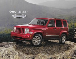 2012 Jeep LIBERTY LATITUDE sales brochure sheet 12 4WD - $6.00