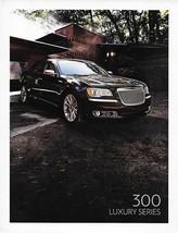 2012 Chrysler 300 LUXURY SERIES sales brochure catalog US 12 - $9.00