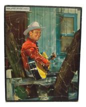 Vintage Gene Autry Picture Puzzle No 2628:29 Whitman Publishing 1947 - $19.99