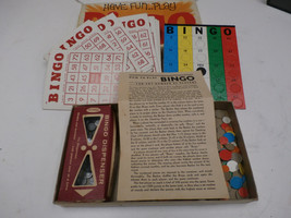 Vintage Bingo Game 20 Card Set Whitman 1970s - $10.00