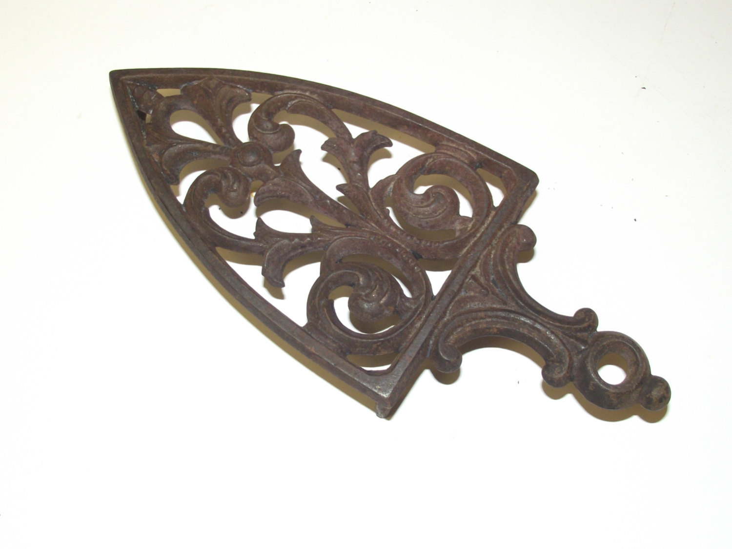 Antique Sad Iron Trivet Colebrookdale Iron Co