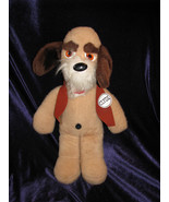 "VINTAGE ANIMAL FAIR STUFFED PLUSH PUPPY DOG CLYDE FRIEND OF HENRY 13"" 20"" - $94.04"