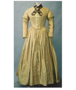 Ladies Round Dresses 1840- 1852 Sewing Pattern #114 (Pattern Only) Lmm114 - $18.00