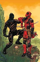 BLACK PANTHER VS DEADPOOL #2 SKROCE VARIANT MARVEL COMICS 2018 - $3.95