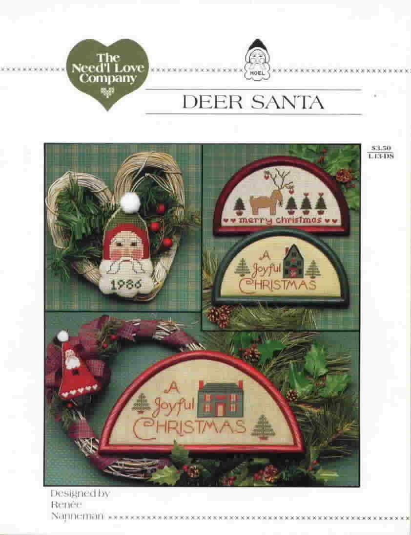 The need l love company deer santa