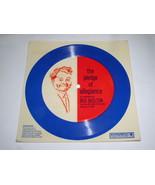 Red Skelton Cardboard Record Pledge Of Allegiance Auravision Vintage 1969 - $19.98