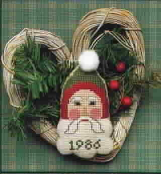 The Needl'l Love Company Deer Santa Cross Stitch by Renee Nanneman