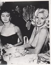 Sophia Loren Jayne Mansfield B Vintage 8X10 BW Movie Memorabilia Photo - $6.99