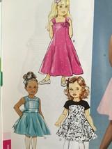 Butterick Sewing Pattern 5980 Girls Dress Size 6-8 New - $16.76