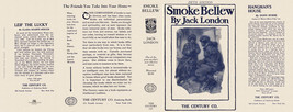 Jack London SMOKE BELLEW  facsimile dust jacket for 5th edition book - $21.56