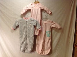Carter's Baby Sleepers one piece Collection of 3 Size Newborn