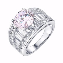 Princess Baguette Cut Ring Solitaire Ladies Wed... - $59.99