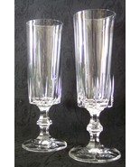 Italiian cut crystal lifestyles champage flutes thumbtall