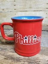"Philadelphia Phillies Red & Blue 3D Mug 4"" X 3.5"" - $16.44"