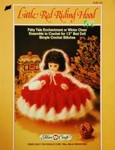 Fibre Craft Little Red Riding Hood Crochet Pattern Leaflet FCM147 - $5.95