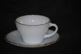 Anchor Hocking Suburbin Cup and Saucer - $14.85