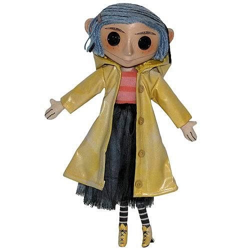 Precious Coraline Prop Replica Doll, 10 Adorable Goth Ghoul by Neca