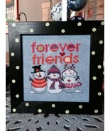 Forever Friends cross stitch chart Amy Bruecken Designs - $7.20