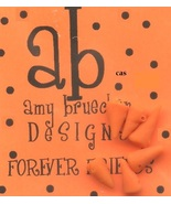 BUTTON PACK Carrot Nose (set of 6) Forever Friends cross stitch Amy Brue... - $6.00