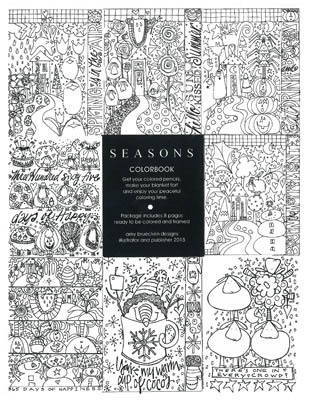 Seasons coloring pages