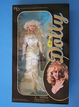 """11 1/2"""" DOLLY PARTON WHITE SEXY GOWN DOLL Colle... - $54.95"""
