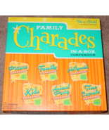 CHARADES FAMILY CHARADES IN A BOX COMPENDIUM GAME 2010 OUTSET COMPLETE E... - $15.00