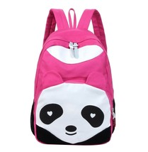 Samaz Canvas Backpack Girls Cute Panda School Shoulder Bag Laptopp Bag - $26.99