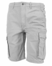 Levi's Men's Premium Cotton Ace Twill Cargo Shorts Relaxed Fit Gray 124630020 image 1