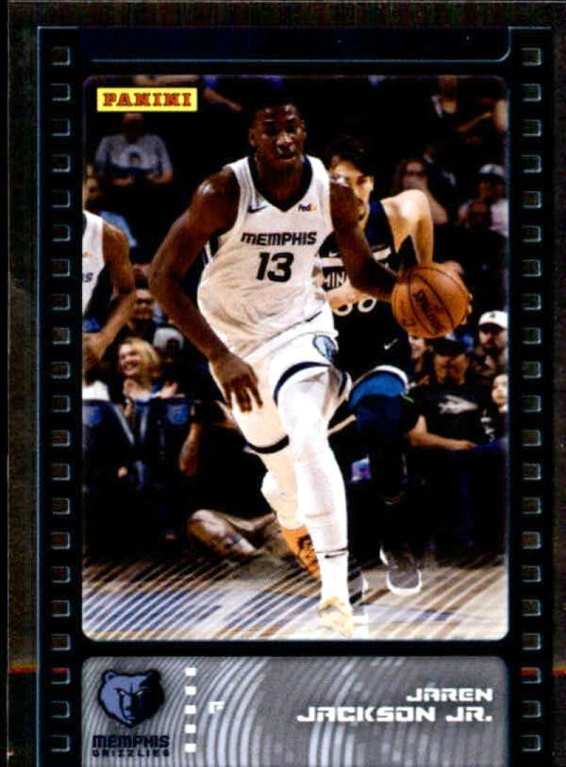 Primary image for 2019-20 Panini NBA Sticker Box Standard Size Silver Foil Insert #78 Jaren Jackso